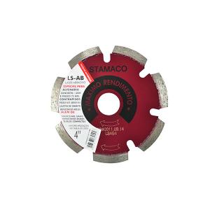 Disco Diamantado Segmentado p/ Serra Circular 105mm 1027 - Stamaco