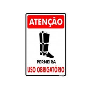 Placa Atenção Perneira Ps788 - Encartale