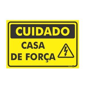 Placa Casa de Força Ps423 - Encartale