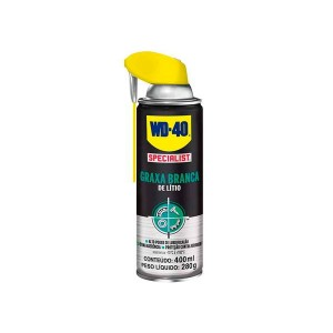 Graxa Branca Litio Aerosol 400ml - Theron