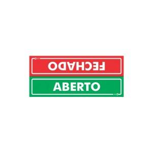 Placa Aberto/Fechado Ps506 - Encartale