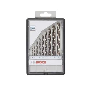 Kit Brocas Metal Aço Rápido c/ 10 unidades - Bosch