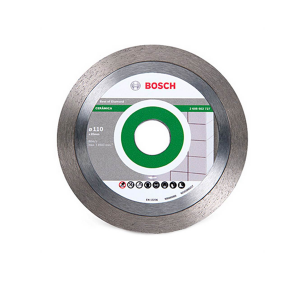 Disco Diamantado Liso Segmentado p/ Porcelanato 110mm - Bosch