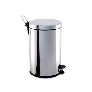 Cesto Lixo 5L Inox Pedal e Bald - Brinox