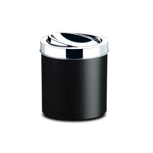 Cesto Lixo 5.4L Preto Basculante - Brinox