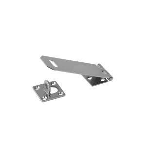 Porta Cadeado p/Porta 101.6mm 4 Pol. Inox 38x100mm