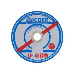 Disco De Corte Inox 4.1/2 Pol. x 1.0 x 7/8 Pol.  - Deep Cut - Icder