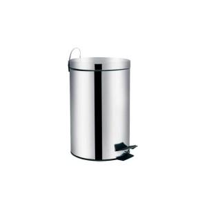 Cesto de Lixo  3 L inox Reto c/Pedal - Mor
