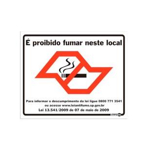 Adesivo Proibido Fumar Neste Local - Encartale