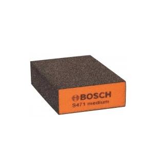 Esponja Abrasiva Grão Médio 69x97x26 mm - Bosch