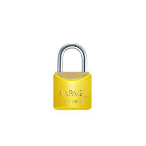 Cadeado de Latão 25mm Capa Amarelo