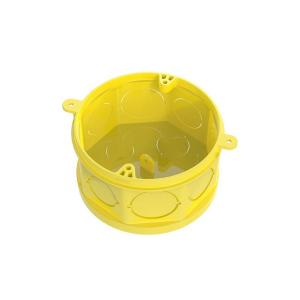 Caixa de Luz Octogonal Fundo Móvel 4x4 Amarelo - Tigre