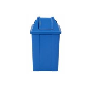 Cesto de Lixo 100 L Quadrado Basculante
