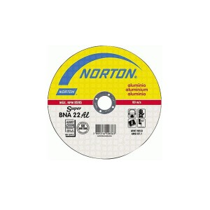 Disco de Corte Alumínio 7 Pol. x 5/64 Pol. x7/8 Pol. BNA22 - Norton