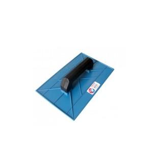 Desempenadeira Plástica Azul 8 x 16cm - Giraldi