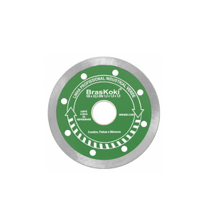 Disco Diamantado 115 mm Contínuo - Braskoki