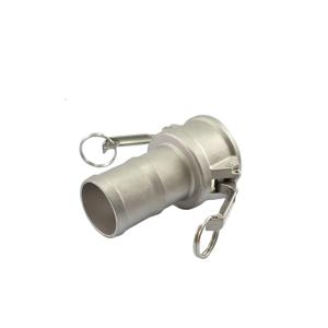 Acoplador Espigão 19.0mm 3/4 Pol em Inox ERT-C