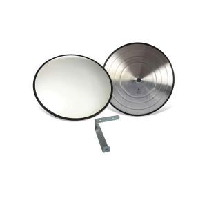 Espelho convexo ø 40 cm Acabamento Borracha - Vision