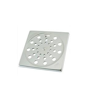 Grelha Quadrada de Inox c/Caixilho de 15cm