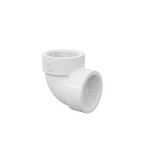 Joelho 90° Branco PVC Roscável 1 Pol - Tigre