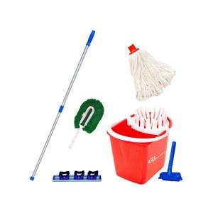 Kit Mopinho para Limpeza Vermelho NY05VM - Bralimpia