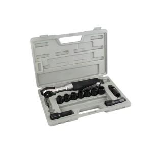 Catraca Pneumática de 1/2 Pol. com Kit de Acessórios + Maleta - Waft