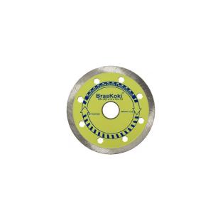 Disco Diamantado Liso 110 mm para Vidros e Porcelanato - Braskoki