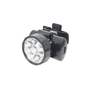 Lanterna para Cabeça com 9 Leds Bivolt Recarregável - Noll