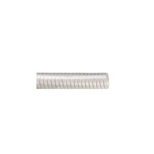 Mangueira PVC Atóxica Transparente 15.8mm 5/8 Pol c/Arame de Aço ( Vendida por Metro)