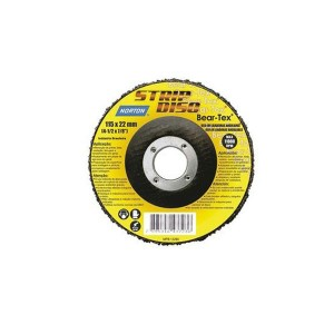 Disco de Lixa 4.1/2 Pol. Bear-Tex Strip Disc - Norton
