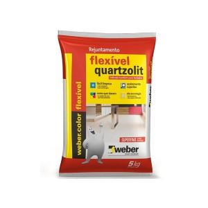 Rejunte Flexível Branco 5kg Quartzolit