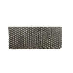 Tela Alumínio Mosqueteiro Fechado 3 x 4mm - 0.50mm - Viana Metais (VENDIDA POR METRO)