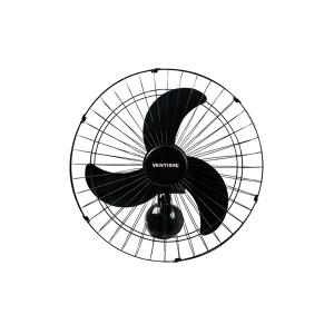 Ventilador de Parede Grade Aço 60cm - Preto - Ventisol