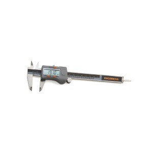 Paquímetro Digital com Dígitos Grandes 6 Pol. 150mm - Digimess