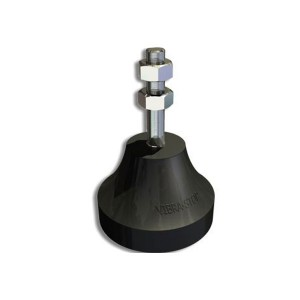 Amortecedor de Borracha Micro I 5/16 Pol. 50Kg - Vibra Stop