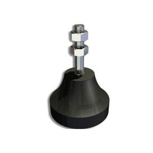 Amortecedor de Borracha Micro III 1/2 Pol. 100Kg - Vibra Stop