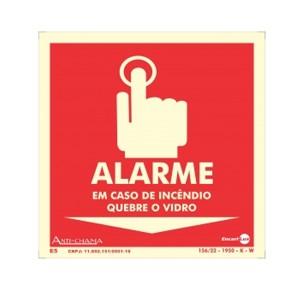 Placa Botão De Alarme Paf414 - Encartale