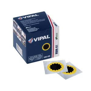 Remendo Para Câmara de Ar 100mm - Vipal (Vendido por unidade)