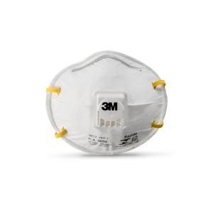 Máscara Respiratória c/ Válvula 8812 Branca - 3M