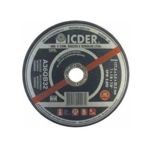 Disco De Corte Inox 4.1/2 Pol x 1.8 x 7/8 Pol. - Deep Cut - Icder