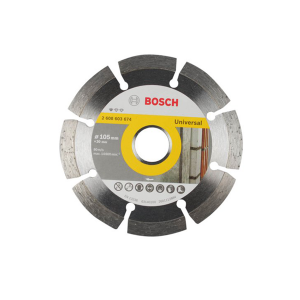 Disco Diamantado Liso Segmentado Universal 105mm - Bosch