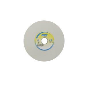 Rebolo Reto Branco p/ Metal Duro 6 Pol. x 3 Pol. x 1.1/4 Pol. 46G - Norton