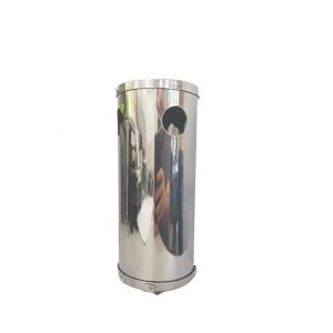 Bituqueira de Parede Aço Inox 15x10cm com Furos Superior