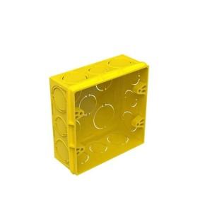 Caixinha de Luz PVC 4x4 Amarela