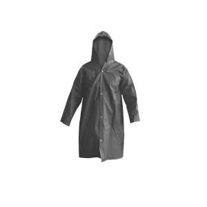 Capa de Chuva PVC Forrada - Cinza - Tamanho G