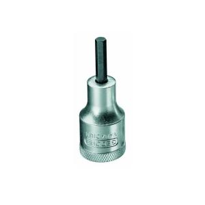Chave Soquete Allen Hexagonal 6mm Encaixe 1/2 Pol. Gedore