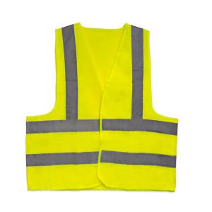 Colete Refletivo Blusão Amarelo Fluorescente sem Bolso