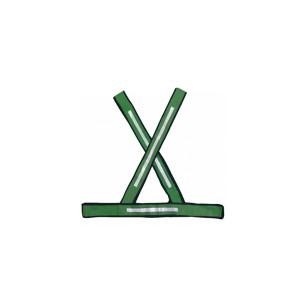 Colete Refletivo X Verde/Prata
