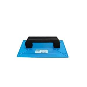 Desempenadeira Plástica Azul 18 x 30cm - Giraldi