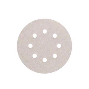 Disco de Lixa 5 Pol. 100 Velcro Branco c/10 Unidades